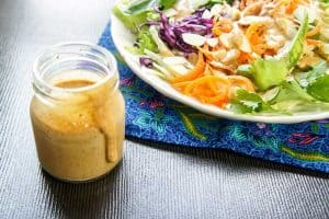Spicy Thai Almond Salad Dressing
