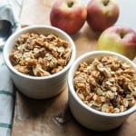 Speedy Saucy Apple Crisp (GF and Low Sugar!)