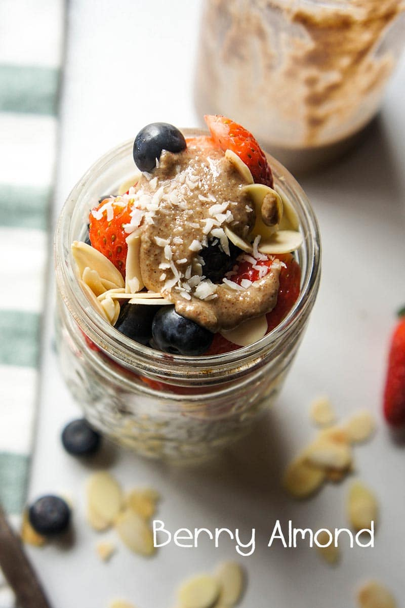 Whole30 Chia Breakfast Pudding / This chia pudding is such a great paleo breakfast. Omega 3 rich chia seeds are soaked in a homemade, date sweetened cashew hemp milk, then topped with fresh fruit, nut butter and coconut.