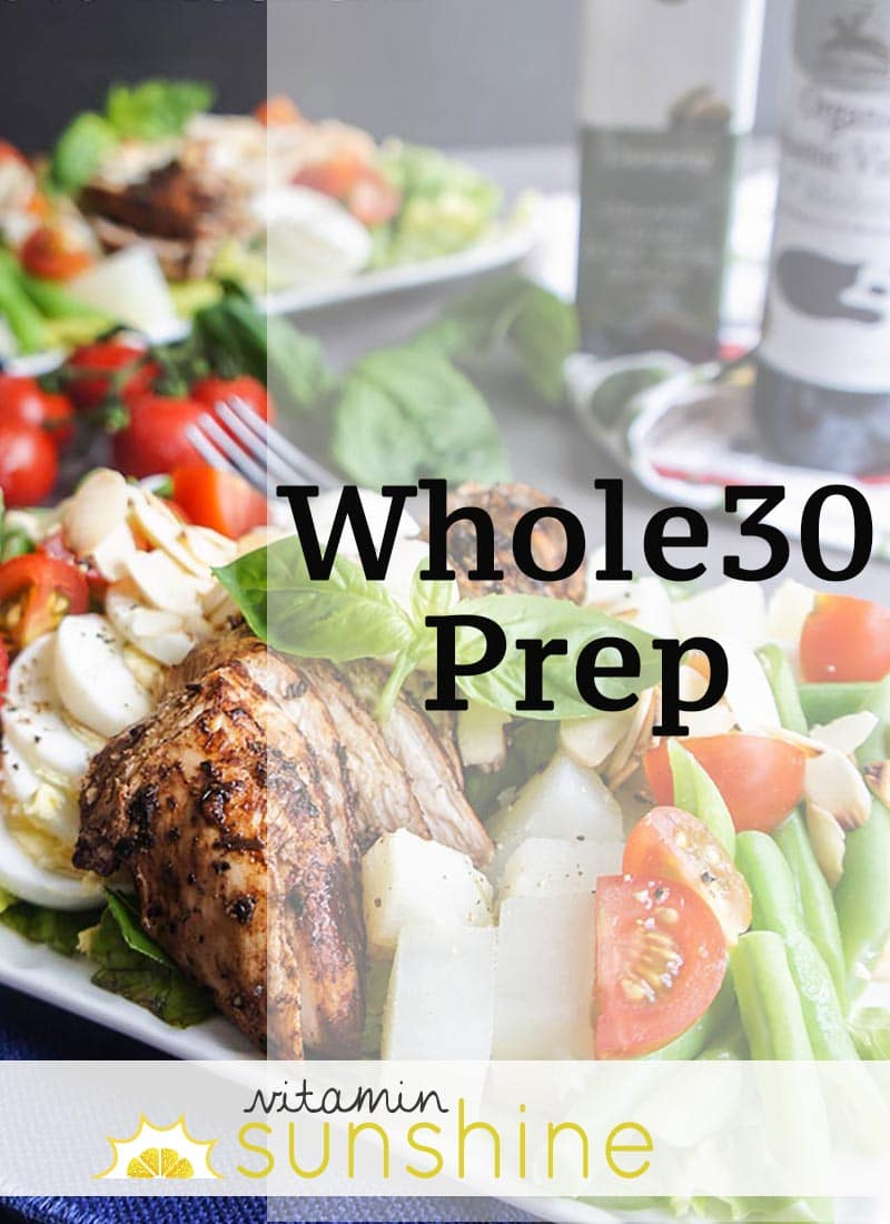 Whole30 Prep