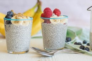 Whole30 Breakfast Chia Pudding