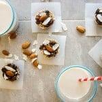 5-Minute, No-Bake Almond Joy Cookies