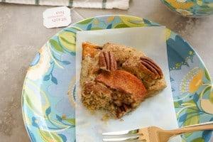 Gluten Free Peach Pecan Scones