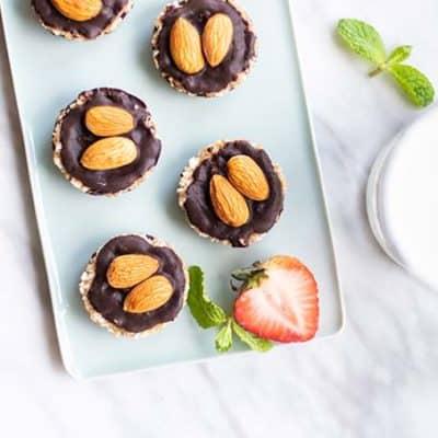 5-Minute, No Bake Almond Joy Cookies