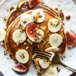 Our Favorite Fluffy Banana Oatmeal Pancakes (Gluten Free)