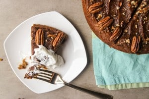 Sticky Date Pudding with Caramel Topping (Sugar Free, Gluten Free)