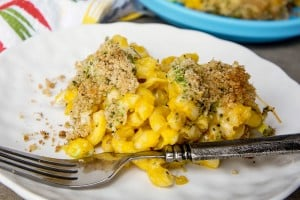 Creamy Macaroni and Cheese with 4 Veggies + Including Kids in the Kitchen