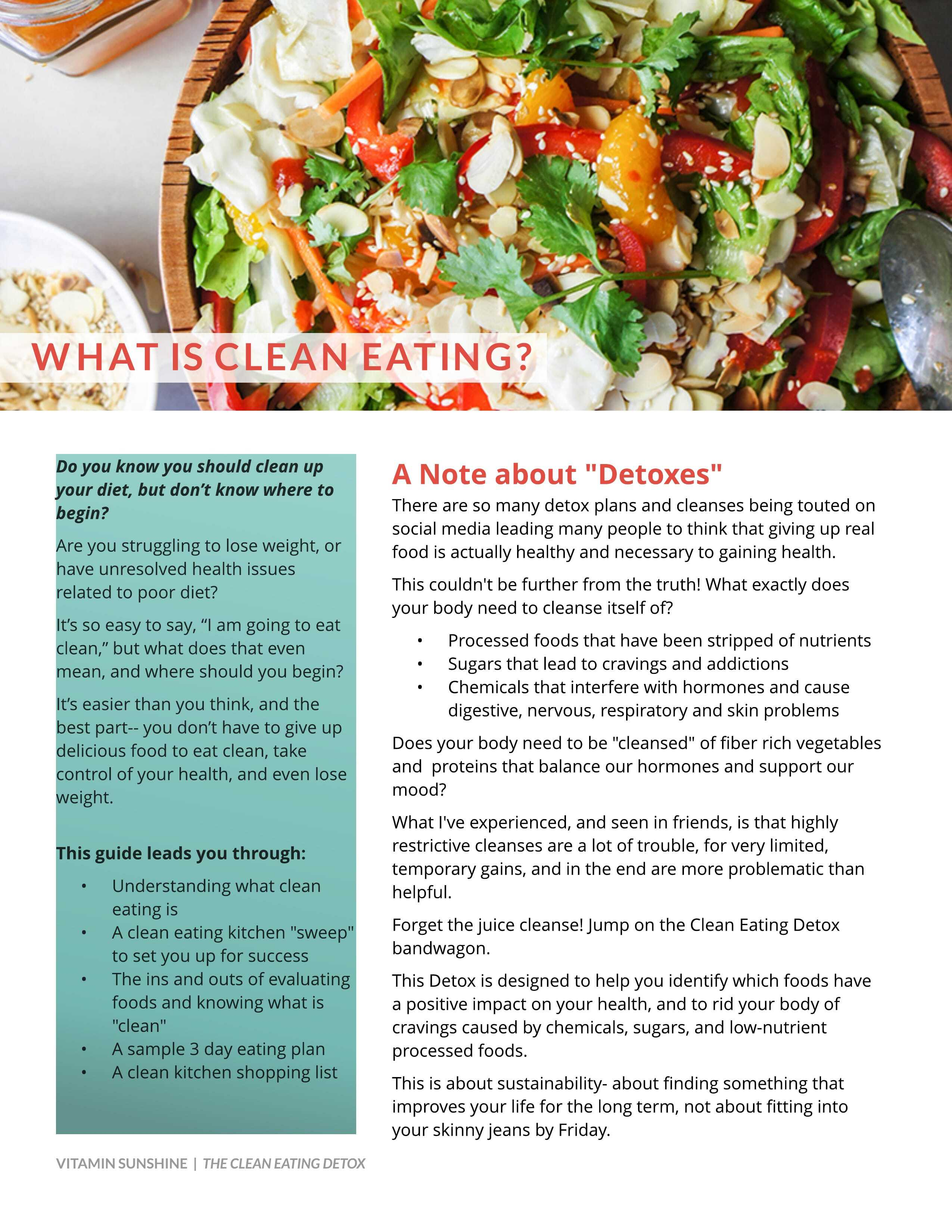 Food Additives to Avoid + A Clean Eating Kitchen Sweep - Sunkissed ...