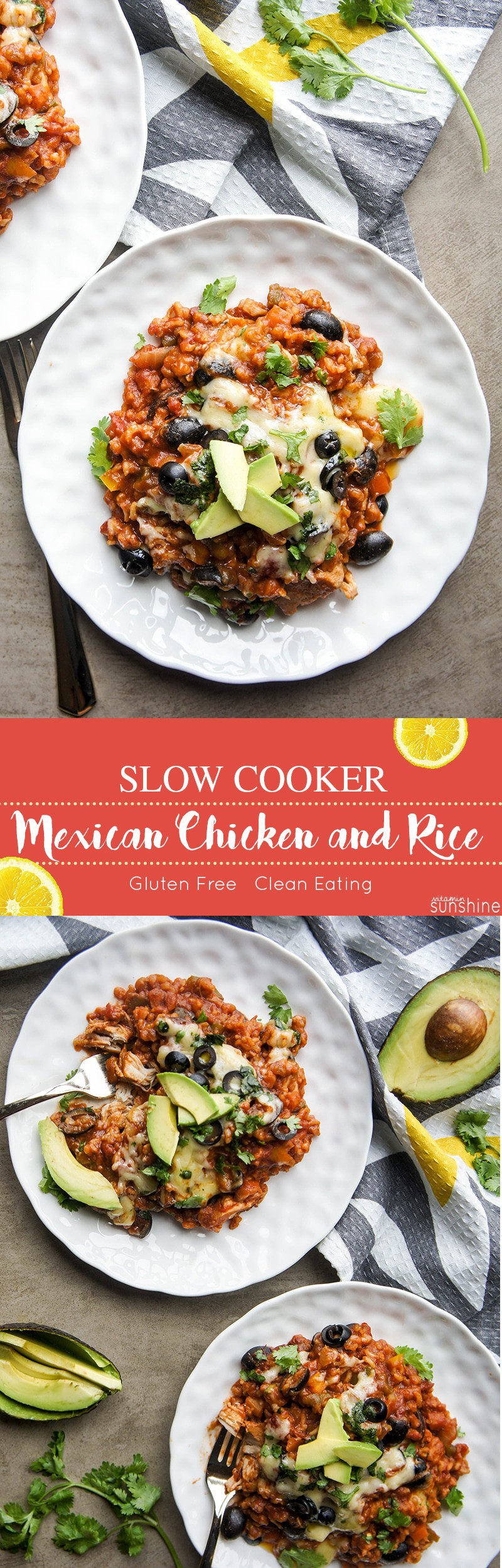 Mexican Chicken And Rice This Slow Cooker Brown Recipe Is Packed With