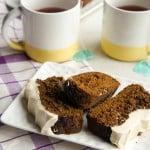Gluten Free Gingerbread Loaf + GIVEAWAY