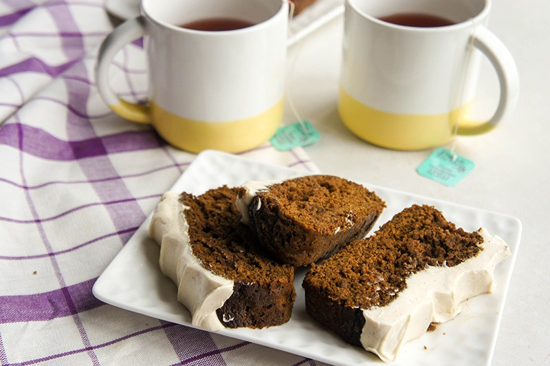 Gluten Free Gingerbread Loaf + GIVEAWAY