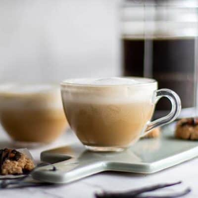 Vanilla Almond Latte (Paleo, Vegan)