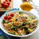 Pesto Green Bean Quinoa Salad