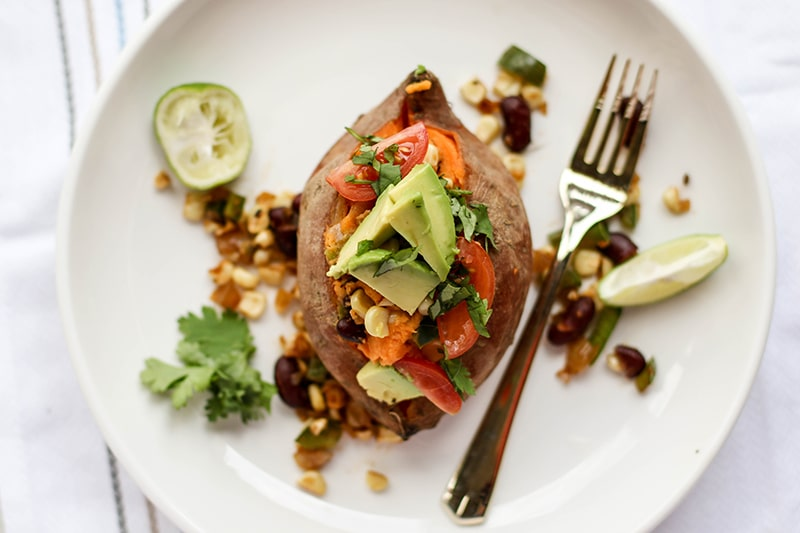 SW Stuffed Sweet Potatoes