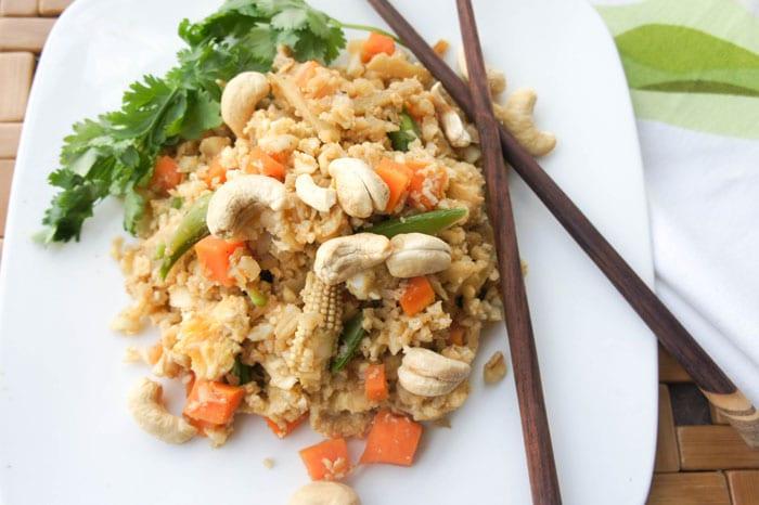 Thai Ginger Fried Rice