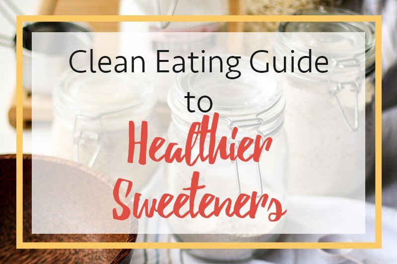 Clean Eating Sweeteners / Honey, Coconut Sugar, Fruit, Blackstrap Molasses, and Date Syrup are all healthier sweeteners to use in baking.