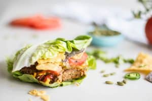 Pumpkin Seed Veggie Burgers (Freezer Friendly Meal Series)