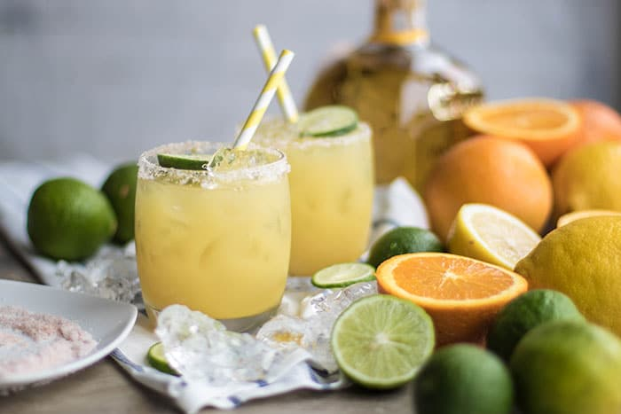 Healthy Scratch Margaritas (Naturally Fruit Sweetened!)