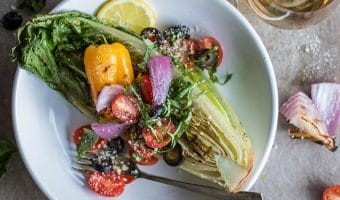 Grilled Romaine Salad (Summer Grilling Series)