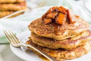 Caramelized Butternut Squash Pancakes (Gluten Free)