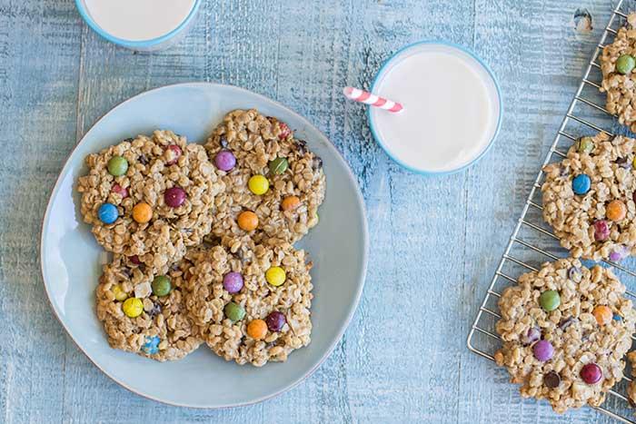 Monster Cookies (Nut Free & Gluten Free)