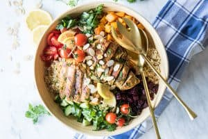 Moroccan Chicken Quinoa Salad