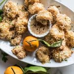 Baked Coconut Shrimp / This easy recipe is gluten free, and makes a delicious, popular party appetizer.