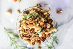 Holiday Spiced Mixed Nuts