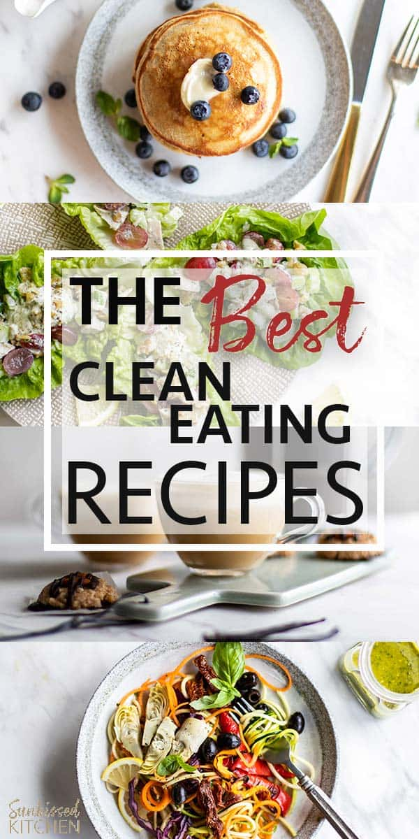 The Beat Clean Eating Recipes from Sunkissed Kitchen. Find Clean Eating Dinners, healthy breakfast, gluten free desserts and more! | SUNKISSEDKITCHEN.COM #glutenfree #cleaneating #recipes #familymeals #healthybreakfasts