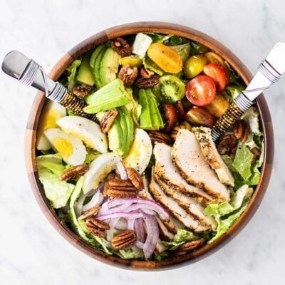 Loaded Whole30 Chicken Caesar Salad