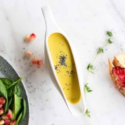 Poppyseed Honey Mustard Salad Dressing
