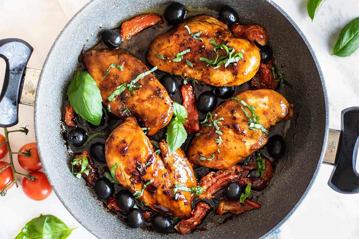 Tuscan Balsamic Chicken Sunkissed Kitchen