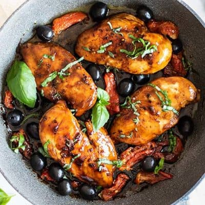 Tuscan Balsamic Chicken