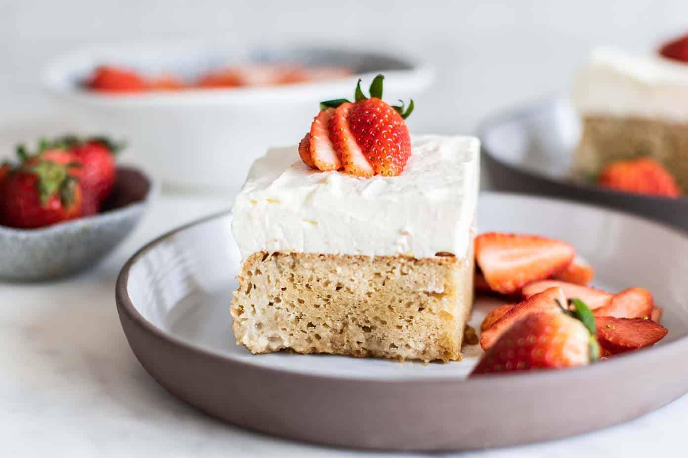Gluten Free Tres Leches Cake Sunkissed Kitchen