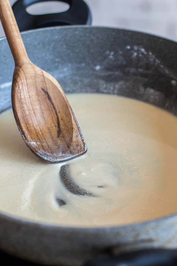 How to make a roux.