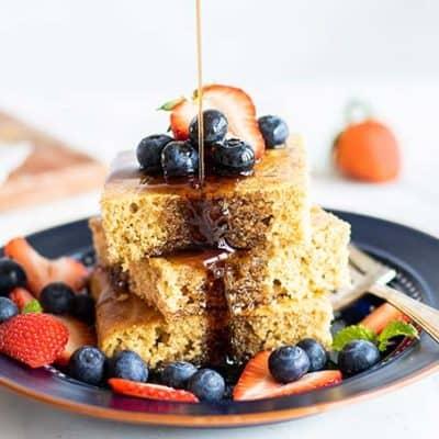 Oven Baked Pancakes – Gluten Free