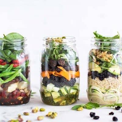 3 Mason Jar Salad Recipes