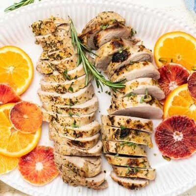 Sunkissed Baked Pork Tenderloin