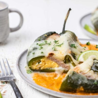 Breakfast Chile Rellenos